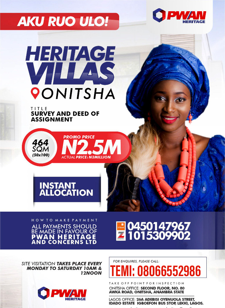 Estate Land in Onitsha
