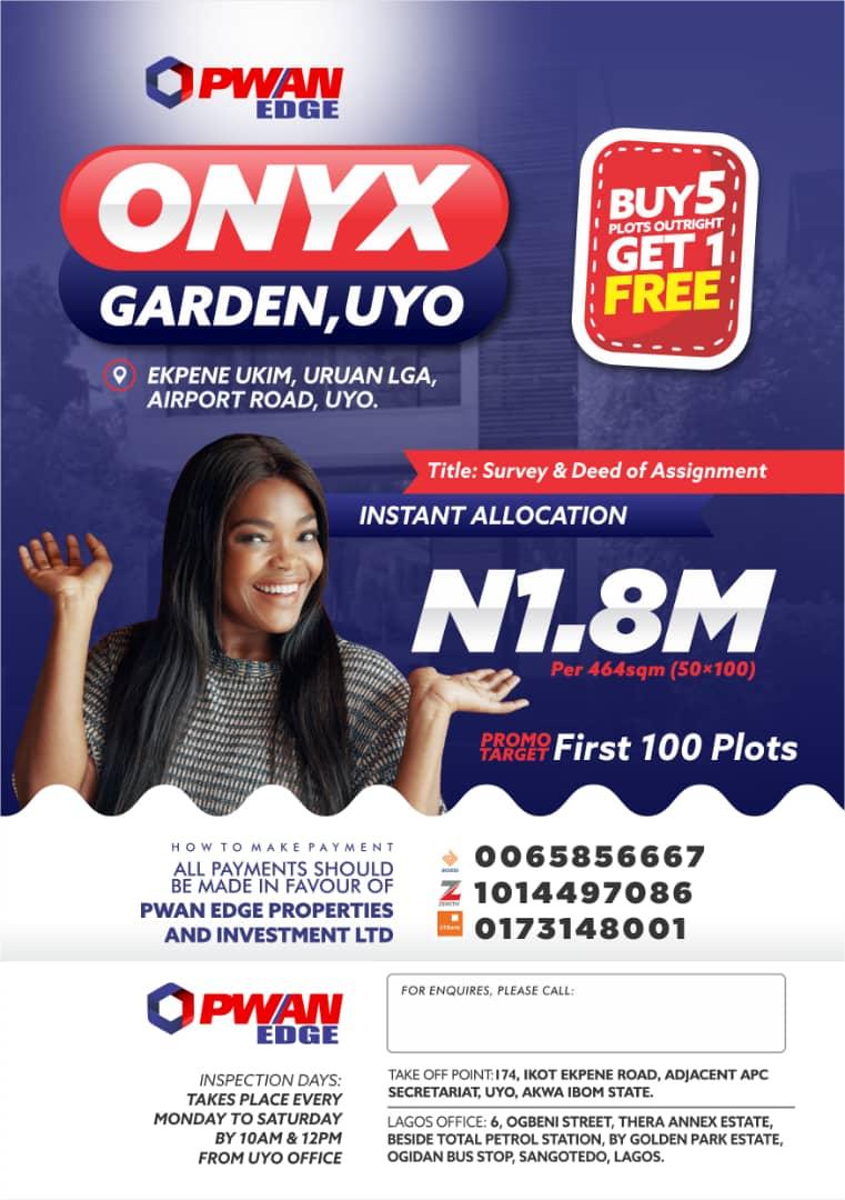Onyx Gardens Uyo