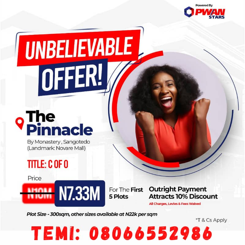 PropertyGuru Nigeria The Pinnacle